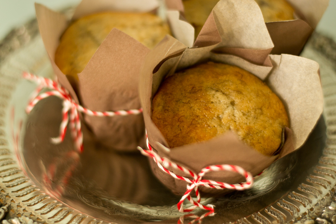 Muffins aux bananes - Camille Brunelle